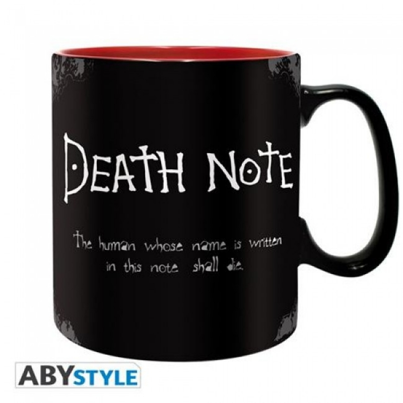 DEATH NOTE - TAZZA 460ML - DEATH NOTE