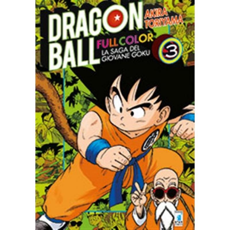 DRAGON BALL FULL COLOR #3 - LA SAGA DEL GIOVANE GOKU
