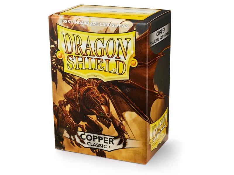 100 BUSTINE DRAGON SHIELD - COPPER CLASSIC