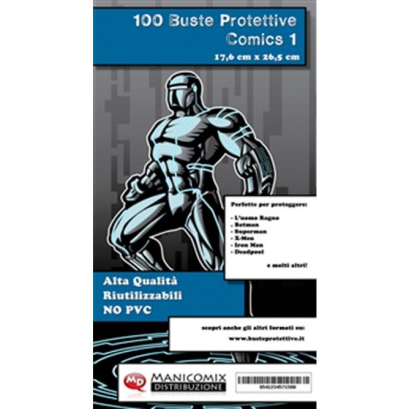 100 BUSTE PROTETTIVE COMICS 1