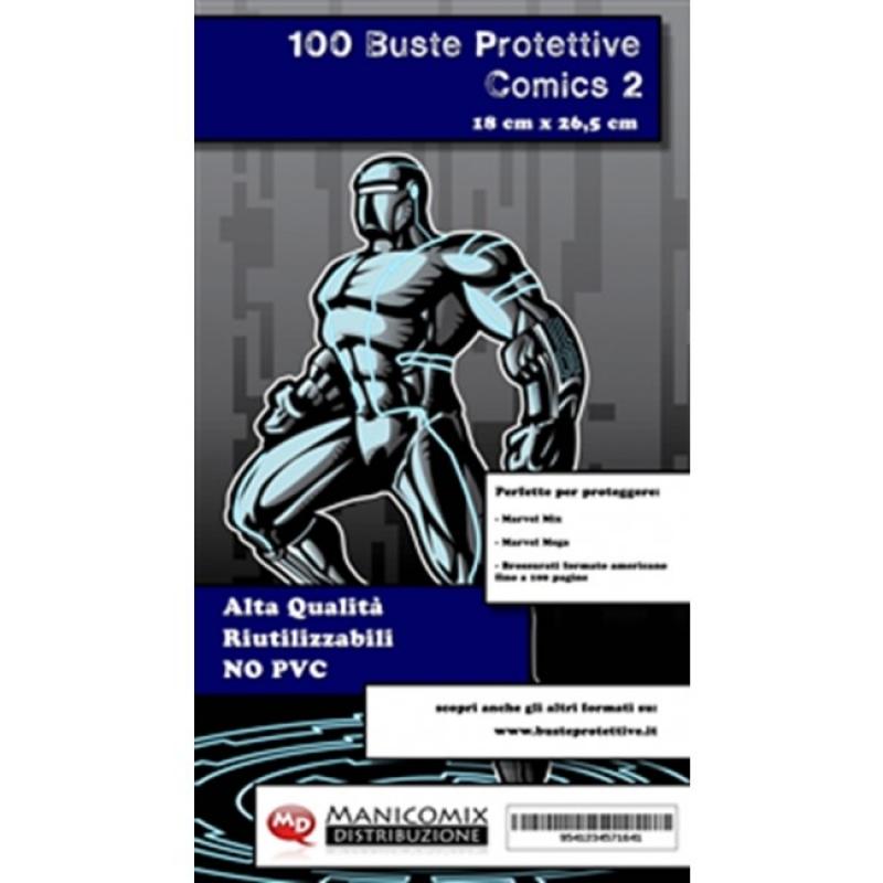 100 BUSTE PROTETTIVE COMICS 2