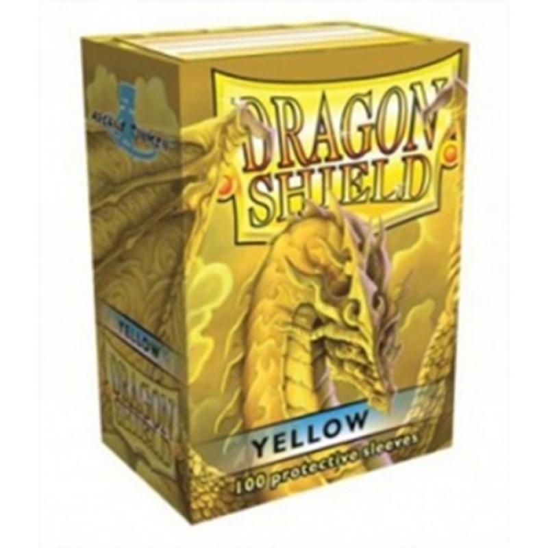 100 BUSTINE DRAGON SHIELD - YELLOW CLASSIC