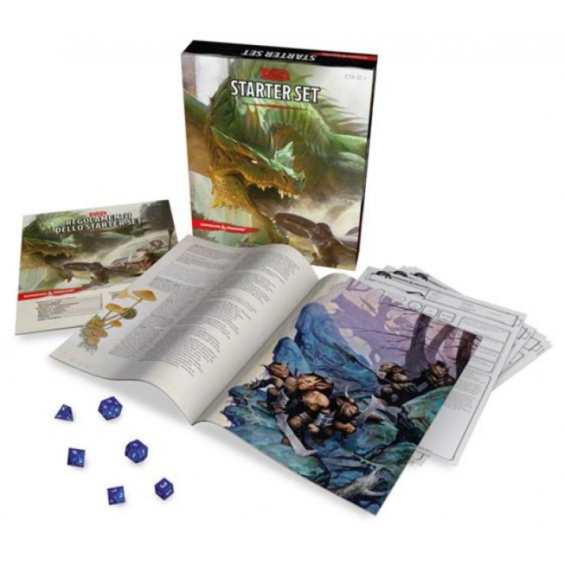D&D 5.0 - STARTER SET - Dungeons and Dragons Starter 5 Edizione