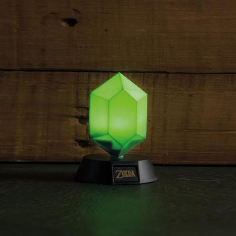 THE LEGEND OF ZELDA - GREEN RUPEE 3D LIGHT