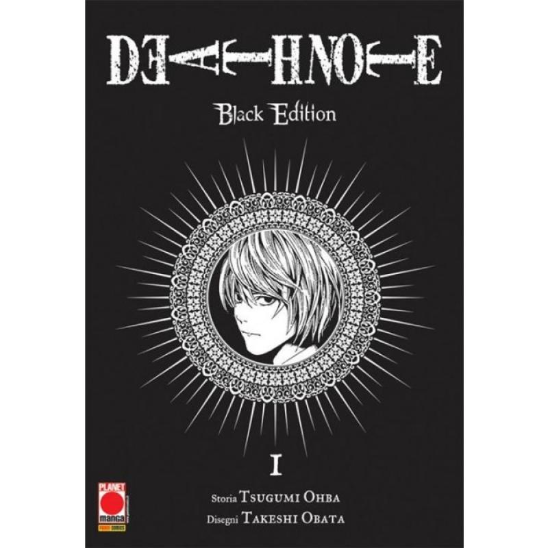 DEATH NOTE BLACK EDITION #1 (DI 6) - RISTAMPA