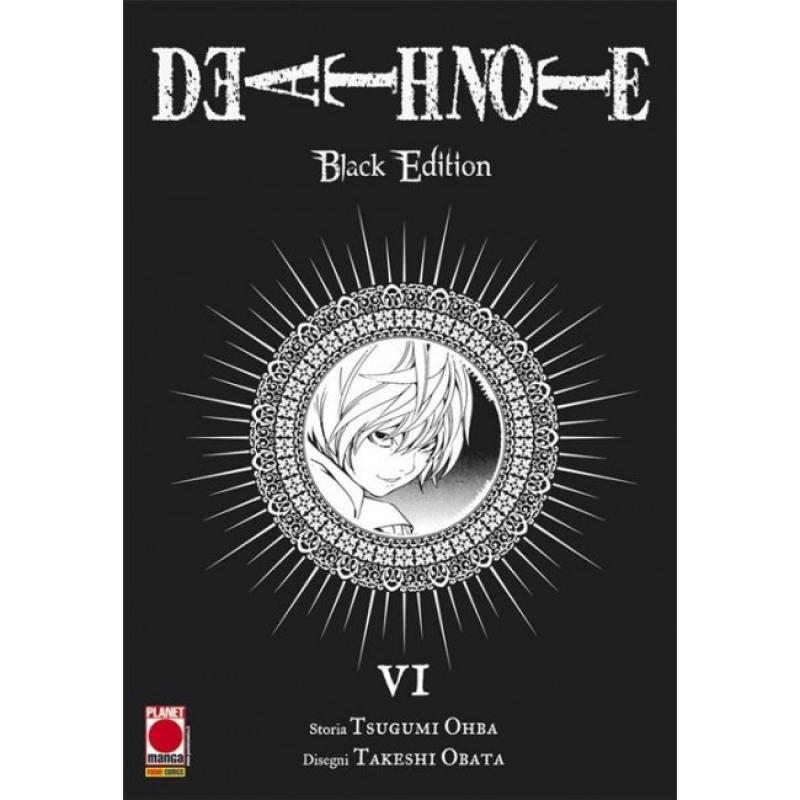 DEATH NOTE BLACK EDITION #6 (DI 6) - RISTAMPA