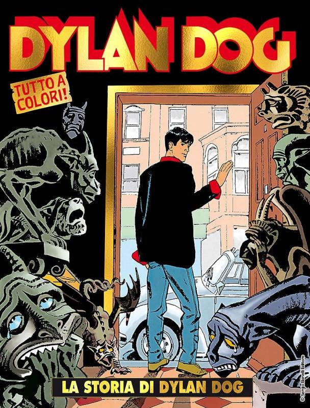 DYLAN DOG 100 - VARIANT 2018 ORO
