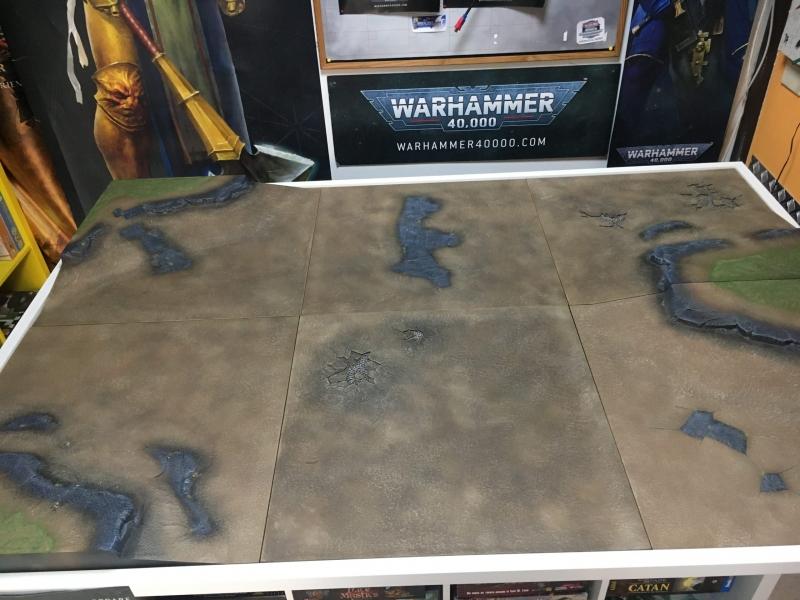 Tavolo da gioco Regno della Guerra - Warhammer [DIPINTO]