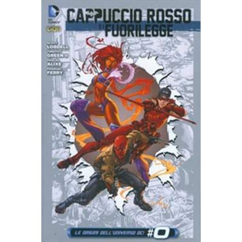 CAPPUCCIO ROSSO E I FUORILEGGE 4