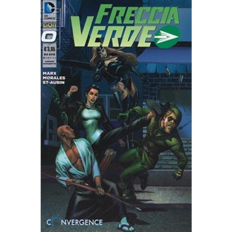 FRECCIA VERDE 0 - THE NEW 52 - VARIANT CON COFANETTO PRIMA STAGIONE
