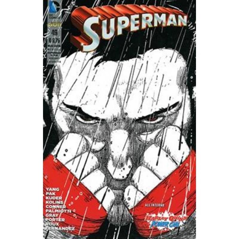 SUPERMAN 49 - THE NEW 52 (LION) - VARIANT E COFANETTO V STAGIONE