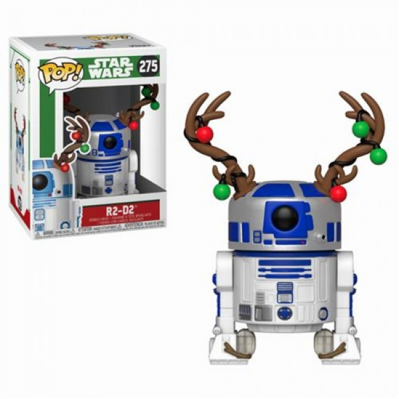 STAR WARS: HOLIDAY - POP FUNKO FIGURE 275 R2-D2 W/ANTLERS