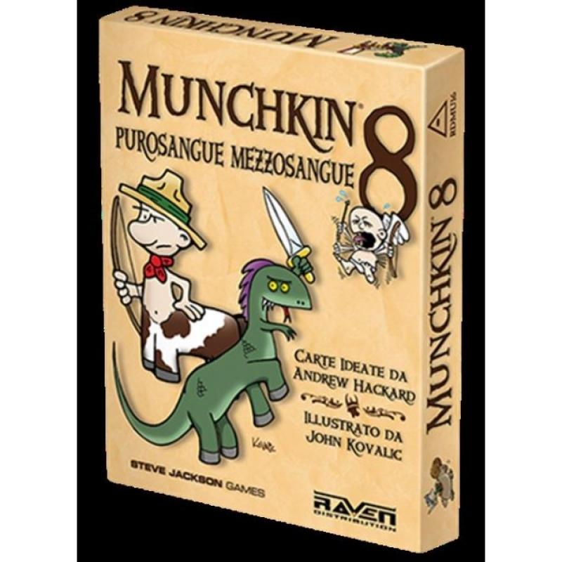 MUNCHKIN 8 - PUROSANGUE MEZZOSANGUE
