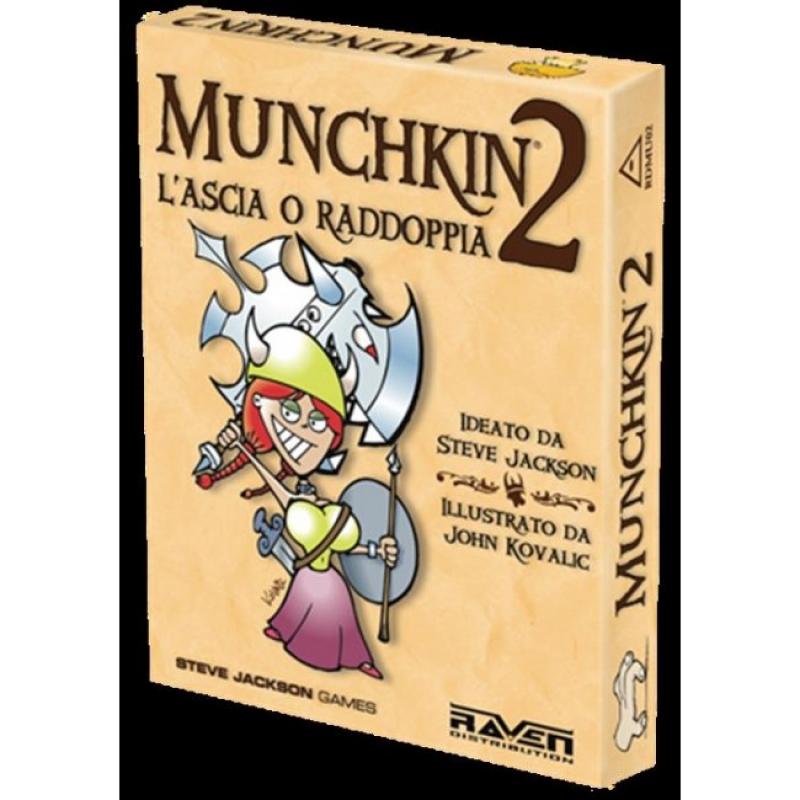 MUNCHKIN 2 - L'ASCIA O RADDOPPIA - NUOVA Edizione