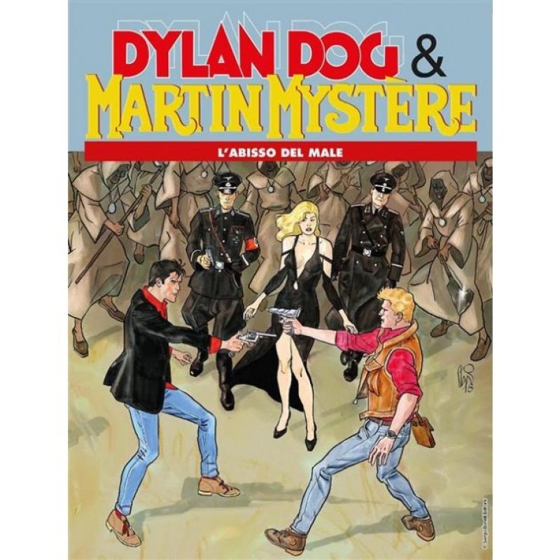 MAXI MARTIN MYSTERE 10 - DYLAN DOG E MARTIN MYSTERE