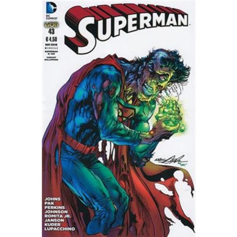 SUPERMAN THE NEW 52 (LION) 43 - VARIANT HALLOWEEN