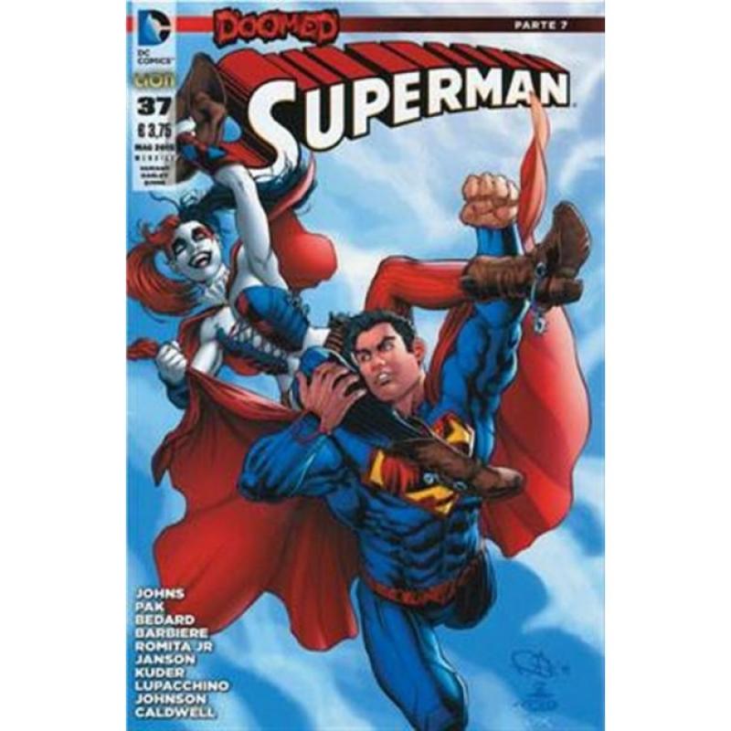 SUPERMAN THE NEW 52 (LION) 37 - VARIANT COVER HARLEY QUINN