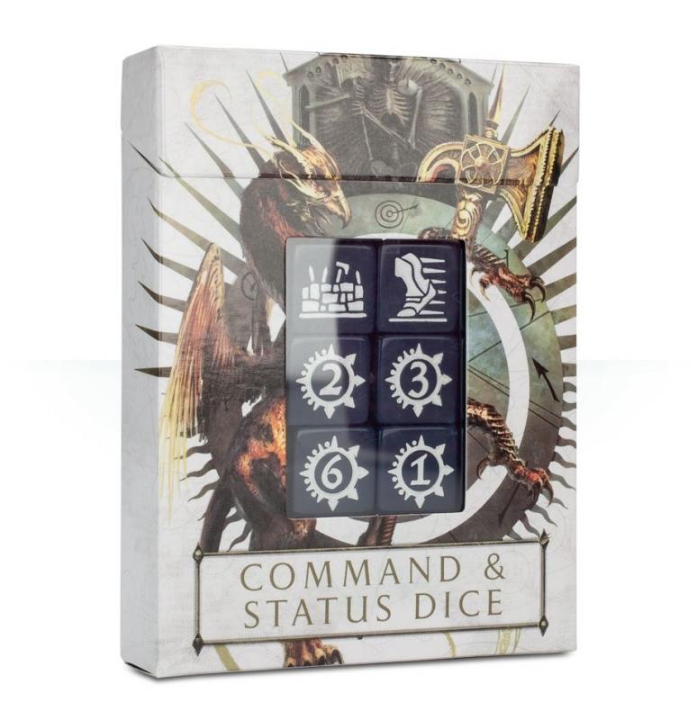 Dadi comando e di status di Warhammer Age of Sigmar