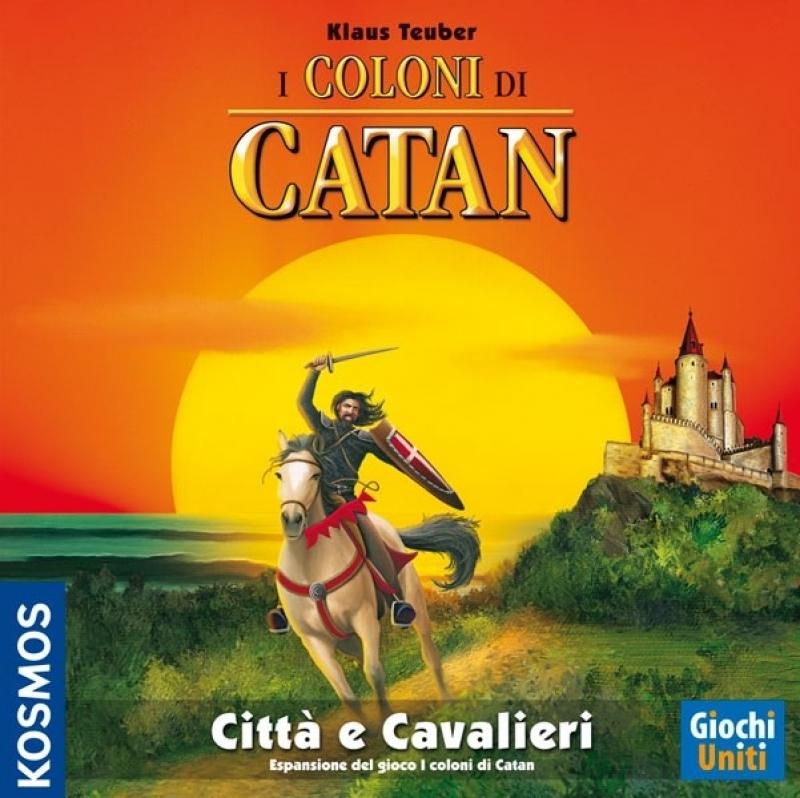COLONI DI CATAN:CITTA' E CAVALIERI - Vecchia edizione