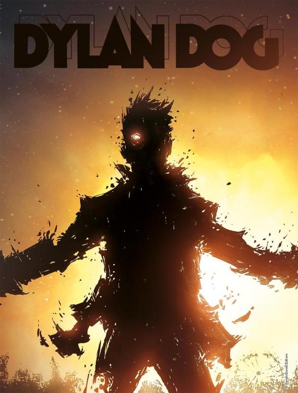 DYLAN DOG 387 - COVER VARIANT LENTICOLARE