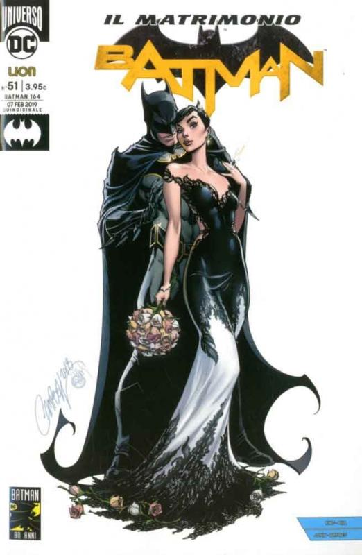BATMAN RINASCITA #51 Il Matrimonio - Variant Fumetterie