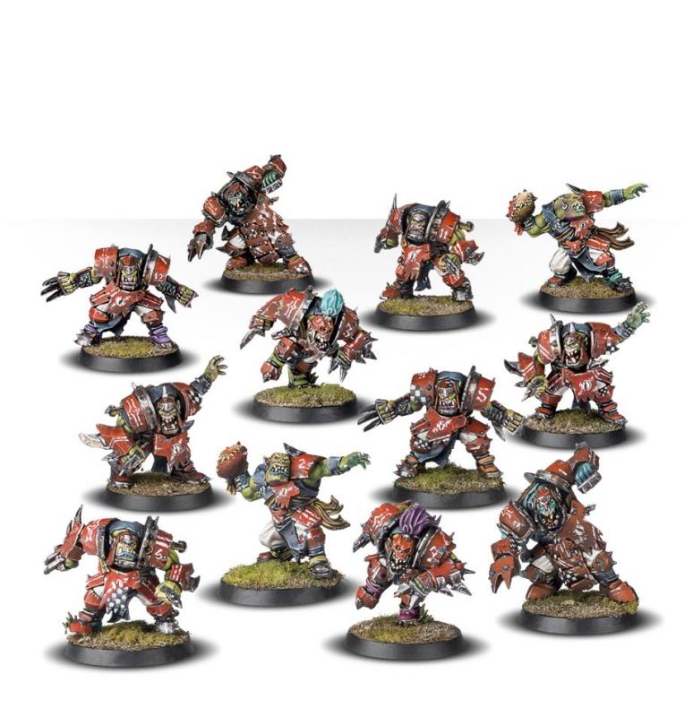 Blood Bowl Team - The Gouged Eye - Ork